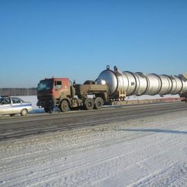 Доставка проектных грузов